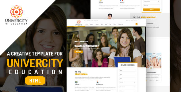 Iqoniq University – Education HTML Templates - Nonprofit Site Templates TFx Tye Trajan