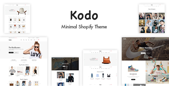 Kodo - Minimal Layout Builder Shopify Theme - Fashion Shopify TFx Aston Sampson