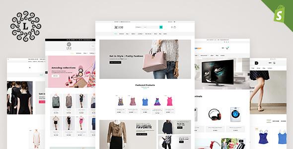 LUSH - Multipurpose Shopify Theme - Shopify eCommerce TFx Ariel Swithun