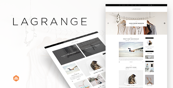 LaGrange – Blog PSD Template – Personal PSD Templates TFx Jaymes Pompey