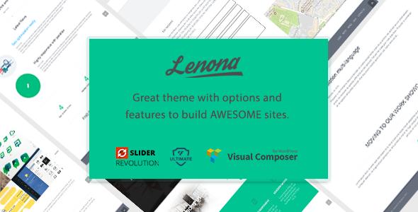 Lenona IT Solutions Minimal WordPress theme - Portfolio Creative TFx Hagop Channing