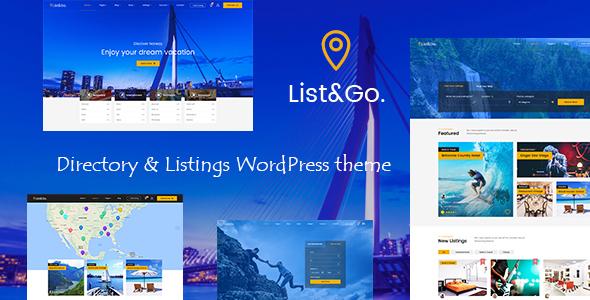 ListGo - Directory WordPress Theme - Directory & Listings Corporate TFx Hyrum Kenith