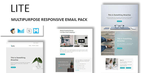 Lite - Email Template Multipurpose Responsive with Stampready Builder Access - Email Templates Marketing TFx Jae Blaze