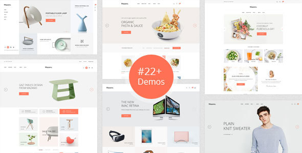 Mazano - Trendy Shopify Theme - Shopping Shopify TFx Ingram Desmond