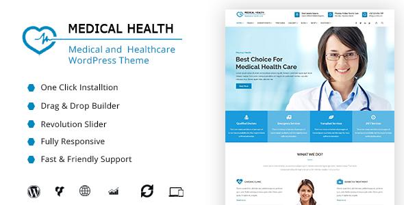 MedicalHealth - Medical, Clinic, Healthcare WordPress Theme - Health & Beauty Retail TFx Rob Jemmy