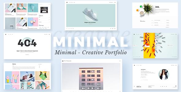 Minimalist - Portfolio WordPress Theme - Portfolio Creative TFx Mahatma Hall
