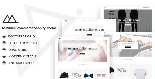Mira – Minimalist eCommerce Shopify Theme – Shopping Shopify TFx Gabby Vern