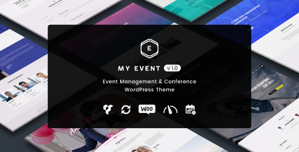 My Event - Event & Conference WordPress Theme - Events Entertainment TFx Brock Nicky