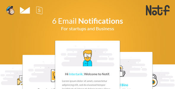 Notif - Email Notifications templates - Email Templates Marketing TFx Muhammad Yuki