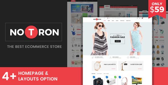 Notron - Responsive Magento Theme - Shopping Magento TFx Cahaya Ralphie