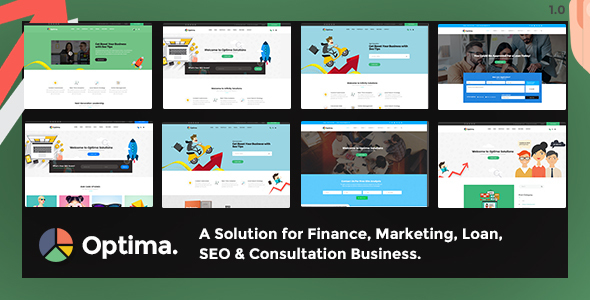 Optima - Multiple Solutions For Business WordPress Theme - Business Corporate TFx Mackenzie Isaiah