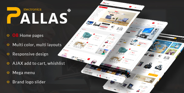 Pallas - Responsive Magento Theme - Technology Magento TFx Odell Osbert
