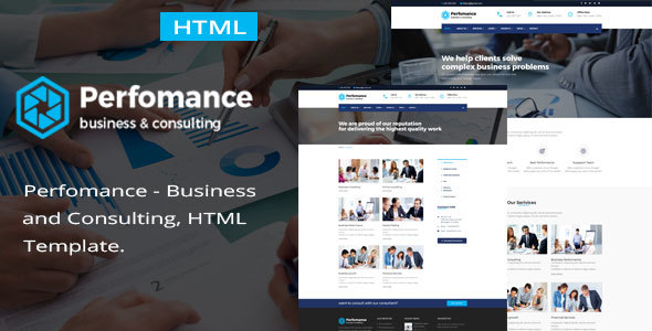 Performance – Consulting & Business HTML Template – Business Corporate TFx Philip Sachie