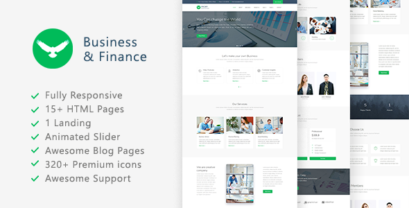 Proff - Business and Finance Template - Business Corporate TFx Jerald Tod