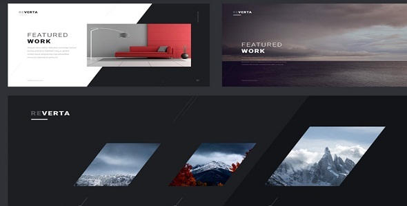 Reverta – Creative Multipurpose HTML Template – Site Templates  TFx Ronny Howard