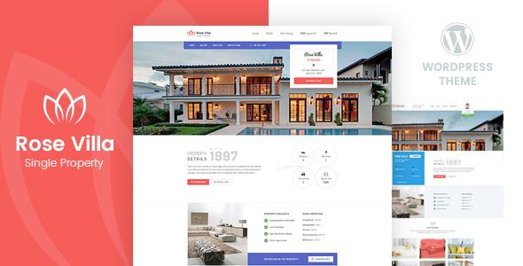 Rose Villa - Single Property WordPress Theme - Real Estate WordPress TFx Yuda Brenton