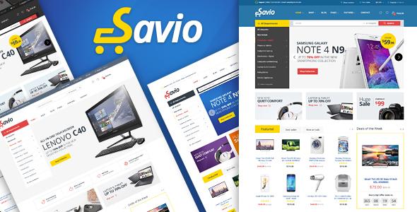 Savio – Responsive Magento 2 Theme – Magento eCommerce TFx Chance Hideyoshi