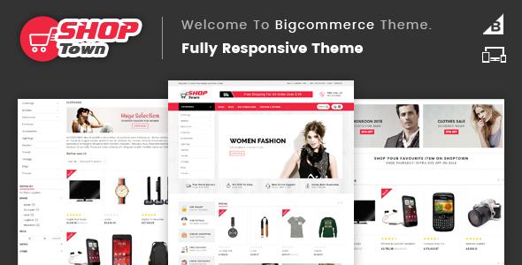 Shop Town - Multipurpose Stencil BigCommerce Theme - BigCommerce eCommerce TFx Rich Masaru