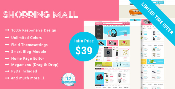 Shopping Mall – Responsive Prestashop 1.7 Theme – Shopping PrestaShop TFx Garland Tristen