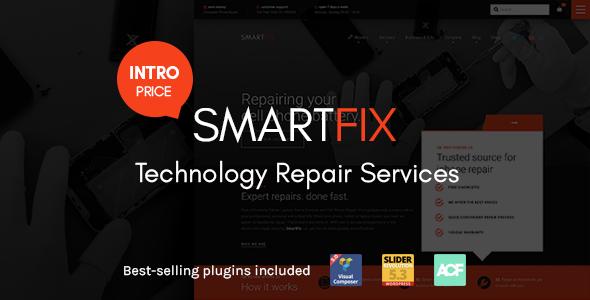SmartFix - The Technology Repair Services WordPress Theme - Retail WordPress TFx Scott Stephen