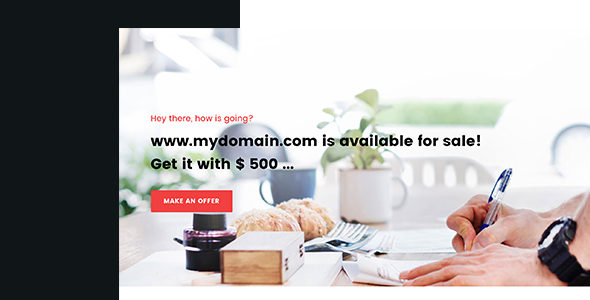 Soune - Domain For Sale Template - Business Corporate TFx Reuben Martin