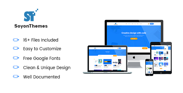 SoyonThemes - Digital Products Marketplace E-Commerce HTML5 Template - Marketing Corporate TFx Quincy Ratna
