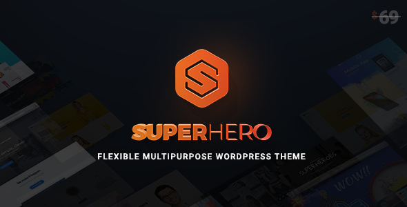 Superhero — Creative Multi-Purpose WordPress Theme - Creative WordPress TFx Hubert Elmo