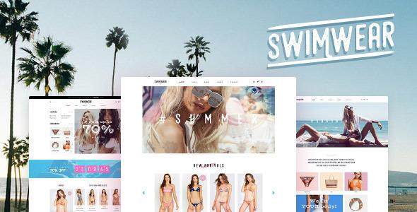 Swimwear - SummerShop WooCommerce WordPress Theme - WooCommerce eCommerce TFx Trevor Josephus