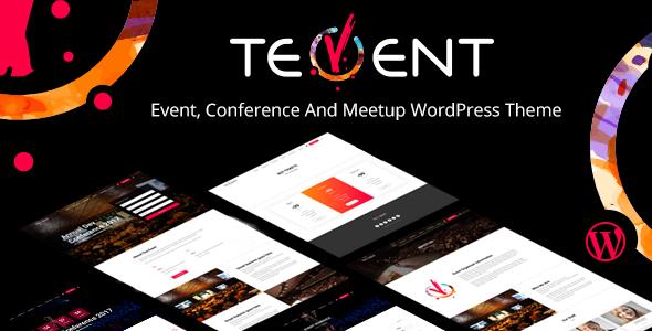 Tevent - Conference & Event WordPress Theme - Events Entertainment TFx Rickie Antinanco