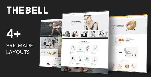 Thebell - Multipurpose Responsive WordPress Theme - WooCommerce eCommerce TFx Teddy Hadley