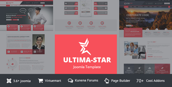 Ultima-star corporate joomla template – Business Corporate TFx Blair Ruben