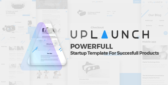 Uplaunch - Tech Startup Product Landing Page - HTML Bootstrap Theme - Marketing Corporate TFx Percy Page