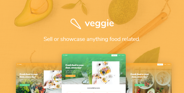 veggie – Sell or Showcase Anything Food Related - Food Retail TFx Merv Bertie