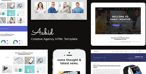 Aabid | Multipurpose Responsive HTML5 Template – Site Templates  TFx Nahuel Collin
