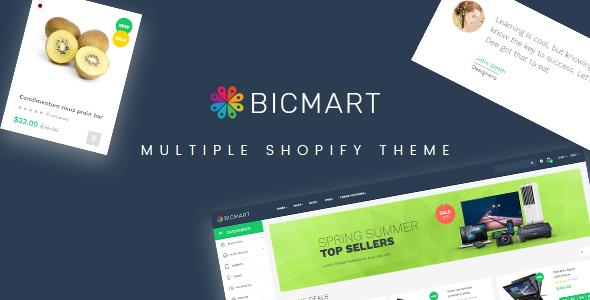 Ap Bicmart Shopify Theme - Miscellaneous Shopify TFx Theobald Nathaniel