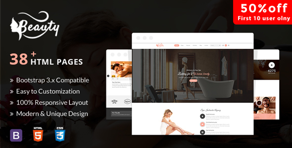 Aveda Spa & Wellness – Multipurpose HTML5 Template For Hair, Beauty & Spa – Health & Beauty Retail TFx Mick Ely