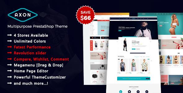 Axon - Multipurpose Responsive Prestashop 1.7 Theme - PrestaShop eCommerce TFx Ozzie Finlay