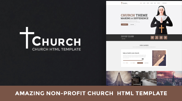 Church - Nonprofit HTML Template - Churches Nonprofit TFx Katsu Wil