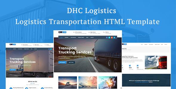 DHC | Logistics Transportation HTML Template - Business Corporate TFx Hiraku Jessie