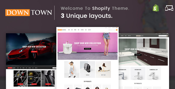 Down Town - Sectioned Multipurpose Shopify Theme - Shopping Shopify TFx Algar Carloman