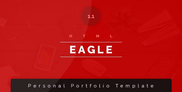 Eagle Personal Portfolio / Resume Template - Portfolio Creative TFx Stephen Barret