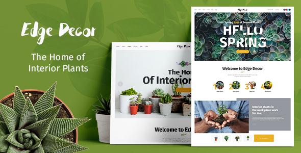 Edge Decor | Gardening & Landscaping Theme - Retail WordPress TFx Morley Hachiro
