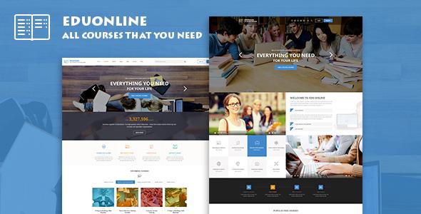 EduOnline - Education & University WordPress Theme - Education WordPress TFx Leopold Quentin