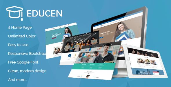 Educen - Education WordPress Theme - Education WordPress TFx Lothair Alva