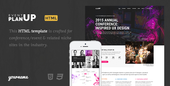 Event up - Event booking html template - Music and Bands Entertainment TFx Gorden Johnny