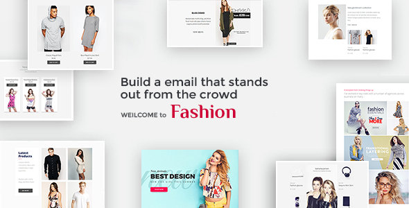 Fashion -  Email Template - Email Templates Marketing TFx Collin Budi