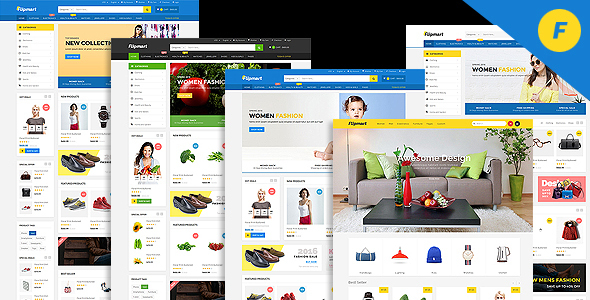 Flipmart - Responsive Ecommerce WordPress - WooCommerce eCommerce TFx Wallace Claude
