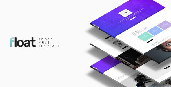 Float - Multipurpose Muse template - Creative Muse Templates TFx Hovik Sri
