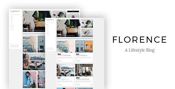 Florence - A Lifestyle WordPress Blog Theme - Blog / Magazine WordPress TFx Clem Theodoric