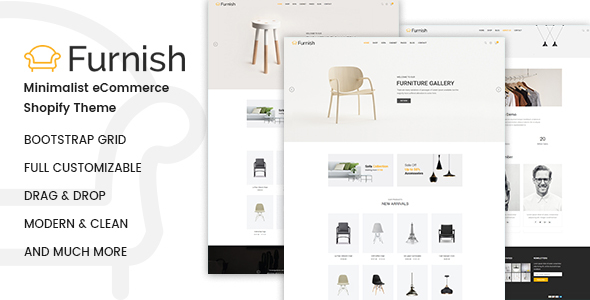 Furnish – Minimalist Shopify Theme - Shopping Shopify TFx Mortimer Erik